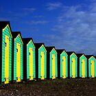 Beach huts by austen haines