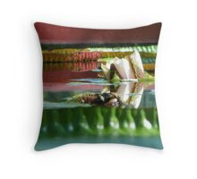 Lily rising Throw Pillow