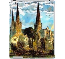 Lichfield Cathedral, Staffordshire - all products iPad Case/Skin
