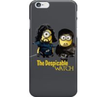 Game of thrones Despicable watch iPhone Case/Skin