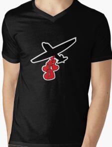 Love Raid Mens V-Neck T-Shirt
