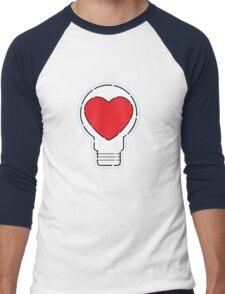 Let Love Light The Way ... Men's Baseball ¾ T-Shirt