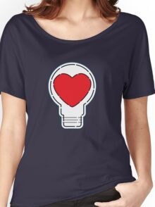 Let Love Light The Way ... Women's Relaxed Fit T-Shirt