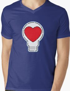 Let Love Light The Way ... Mens V-Neck T-Shirt