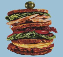 Turkey Club on Rye Kids Clothes