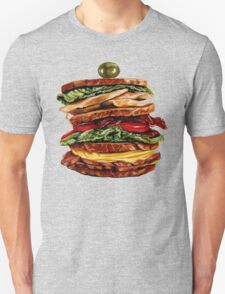 Turkey Club on Rye T-Shirt