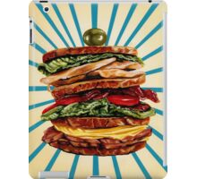Turkey Club on Rye iPad Case/Skin