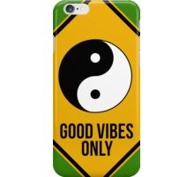 Good vibes!!! Yin Yang - Music is the answer  iPhone Case/Skin