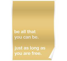 Be All That You Can Be [SAND] Poster