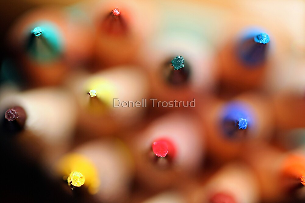 Colored Peaks by Donell Trostrud