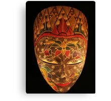Mask... Canvas Print