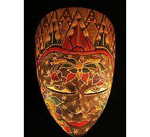 Mask... Photographic Print