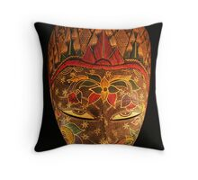 Mask... Throw Pillow