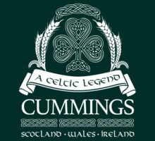 Amazing 'Cummings a Celtic Legend' T-shirts, Hoodies, Accessories and Gifts T-Shirt