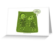 Dungeon Grind - Don't Be Jelly Greeting Card