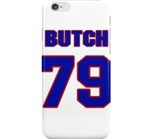 National football player Butch Lewis jersey 79 iPhone Case/Skin