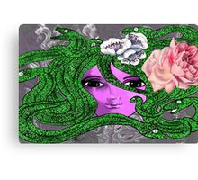 Snake Lady Canvas Print