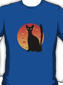 Black Cat & Moon T-Shirt