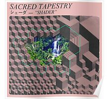 Sacred Tapestry [vaporwave] Poster