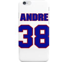 National football player Andre Hal jersey 38 iPhone Case/Skin