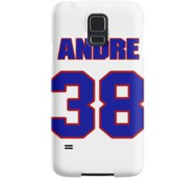 National football player Andre Hal jersey 38 Samsung Galaxy Case/Skin