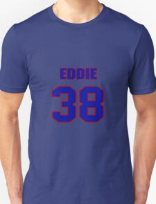National football player Eddie Ray jersey 38 T-Shirt