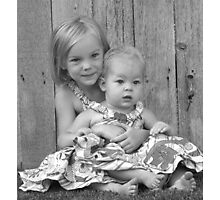 county gals Photographic Print