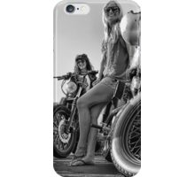Cafe Racer Babes iPhone Case/Skin