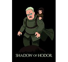 Shadow of Hodor Photographic Print