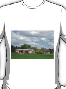 Okeover Hall and Manor Church  T-Shirt