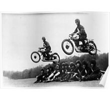 Motorcycle Jump Poster
