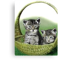 Kitty Caddy Canvas Print