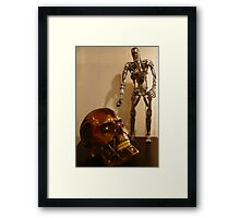 Terminator Red Eyes Framed Print