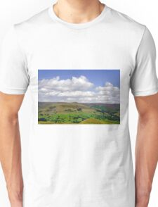 Across the Valley to Grindslow Knoll  Unisex T-Shirt