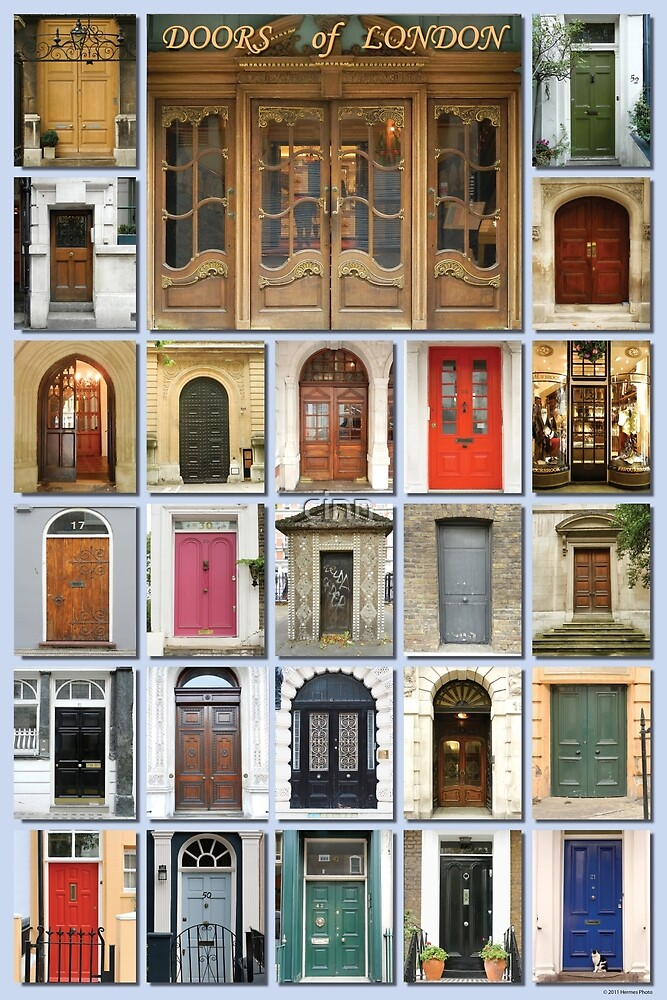 Doors of London by cinn