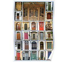 Doors of London Poster