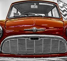 Red Mini by Stevie B