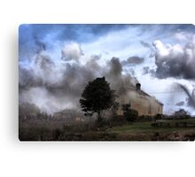 Where There's Smoke ... Canvas Print