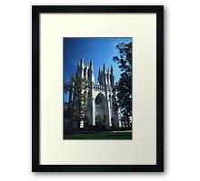 National Cathedral 2 Framed Print