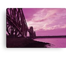 Bridge over the Forth Canvas Print