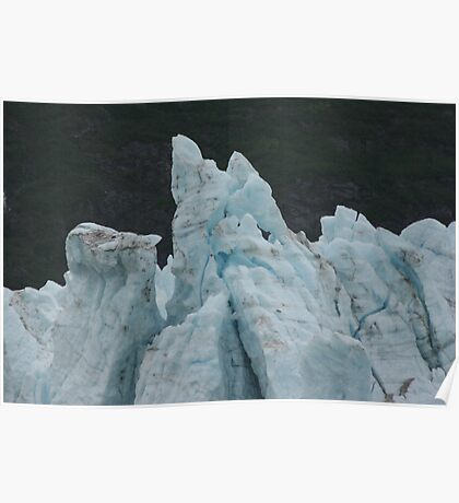 Blue Glaciers Poster