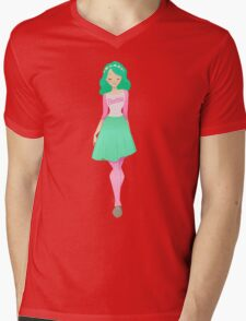 Bubblegum B*tch Mens V-Neck T-Shirt
