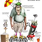 THE GOLFER by Mugsy