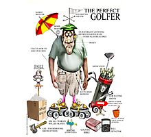THE GOLFER Photographic Print
