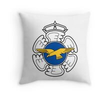Emblem of the Finnish Air Force  Throw Pillow