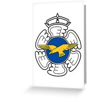 Emblem of the Finnish Air Force  Greeting Card