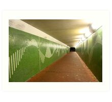 Perth at Night - Crawley Underpass Art Print