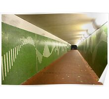 Perth at Night - Crawley Underpass Poster