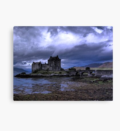 Touched by Heaven (Eilean Donan Castle) Canvas Print