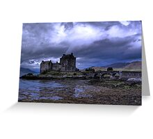 Touched by Heaven (Eilean Donan Castle) Greeting Card